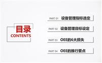 新形势下制造业如何有效提升OEE(设备综合效能)